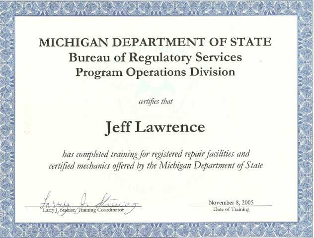 Michigan Bucket Truck Aerial Lift Repair And Service